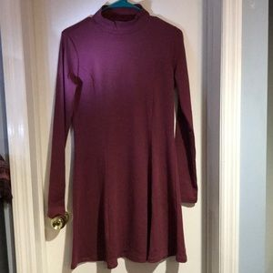 Brand New with Tag Mock Neck Long Sleeve Dress